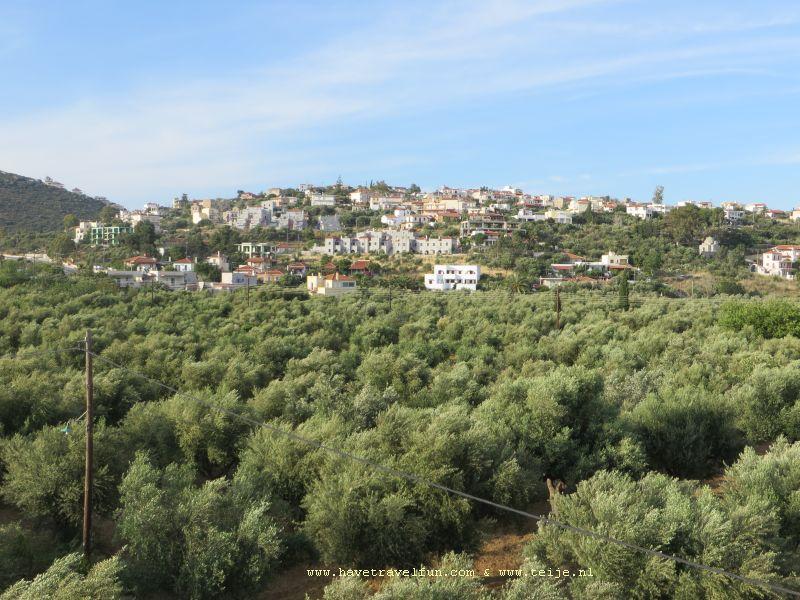Mavrovouni bij de baai van Lakonikos, Griekenland
