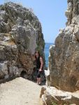 Bij de grotten van Diros, Griekenland