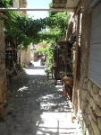 Straatje in Monemvasia