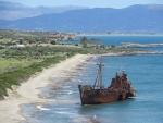 Dimitrios scheepswrak, Griekenland