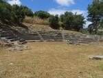 Amfitheater bij Gytheio, Griekenland