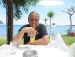 Lekker ontspannen op het terras, Griekenland
