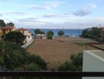 Uitzicht op zee bij Mavrovouni, Griekenland