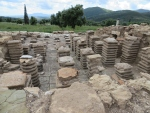 Romeins badhuis, Messini, Griekenland