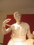 Beeld in het museum van Messini, Griekenland