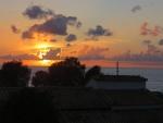 Zonsondergang in Kalo Nero, Griekenland