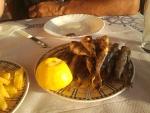 Sardientjes als diner, Griekenland