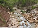 Stroompje in de binnenlanden van de Peloponnesos, Griekenland