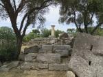 Bij de tempel van Zeus, Olympia, Griekenland