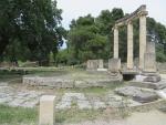 Het Philippeion in Olympia, Griekenland