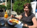 Lunchen bij Olympia, Griekenland