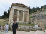 Schathuis van de Atheners, Delphi, Griekenland