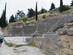 Amfitheater in Delphi