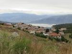 Uitzicht bij Galaxidi, Griekenland