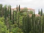Klooster in de buurt van Kalavrita, Griekenland