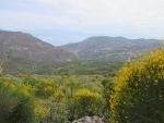 Berglandschap bij Kalivitis, Griekenland