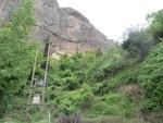 Mega Spileo klooster bij Kalavrita, Griekenland