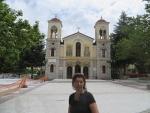 Pleintje in Kalavrita, Griekenland