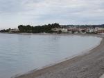 Strand bij Xylokastro, Griekenland