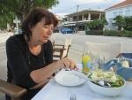 Gezond eten in Sykia, Griekenland