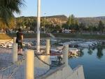 Haventje van Xylokastro, Griekenland
