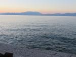Golf van Korinthe bij Xylokastro, Griekenland