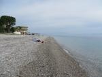We zijn de enigen op het strand, Griekenland