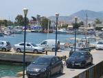 De haven van Pachi, Griekenland
