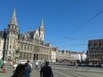 De Korenmarkt in Gent, Belgie