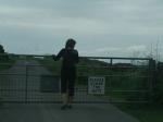 Single track road in de Borders, Schotland