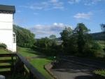 Uitzicht op Holy Loch en Dunoon, Schotland
