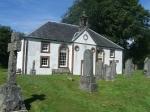Kilmodan kerk, Clachan of Glendaruel in Cowal, Schotland