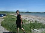 Naar het strand, Schotland
