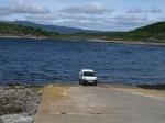 Waar blijft de boot?, Schotland