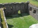 Binnenplaats van Skipness kasteel, Schotland