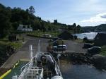 Het haventje van Tarbert op Kintyre, Schotland
