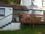 Kilmun Lodge bij Dunoon, Schotland
