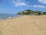 Het strand van Vitalades, Griekenland