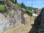 Restanten van een Romeins badhuis, Griekenland