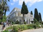 Het Achilleion op Korfoe, Griekenland