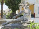 Achilles in het Achilleion, Griekenland