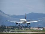 Vliegtuigen spotten bij Korfoe airport, Griekenland
