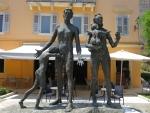 Monument voor de Joodse slachtoffers van Korfoe, Griekenland
