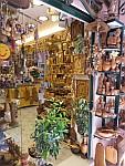 Souvenirwinkel in Kerkyra, Griekenland