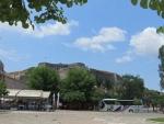 Het fort van Korfoe, Griekenland