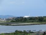 Weer vliegtuigen spotten in Korfoe, Griekenland