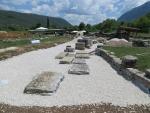 Opgravingen in Dodoni, Griekenland