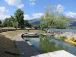Het Katsan park in Ioannina, Griekenland