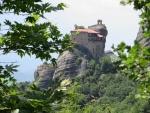 Het Rousanou klooster, Meteora, Griekenland