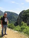 Wandelen bij de Vikos kloof, Griekenland
